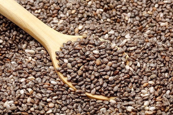 NATURACEREAL Semillas de Chia Calidad Premium 25 KG - | Vegano | Libre de Gluten |
