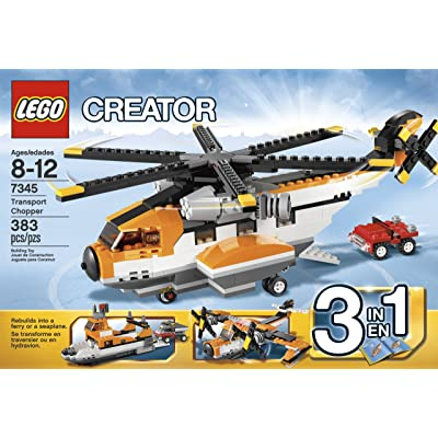 LEGO Creator 7345 Transport Chopper: Toys & Games