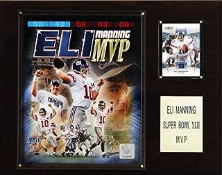 product image for NFL Eli Manning Super Bowl XLII MVP New York Giants Player Plaque