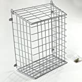 Front Door Letter Cage or Mail Catcher in White Medium Large Extra Large (Large 608)