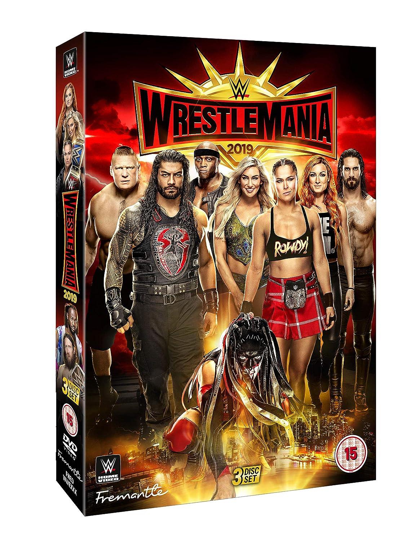 WWE: WrestleMania 35 [DVD] [Reino Unido]: Amazon.es: Becky Lynch, Ronda Rousey, Seth Rollins, Brock Lesnar, Becky Lynch, Ronda Rousey: Cine y Series TV