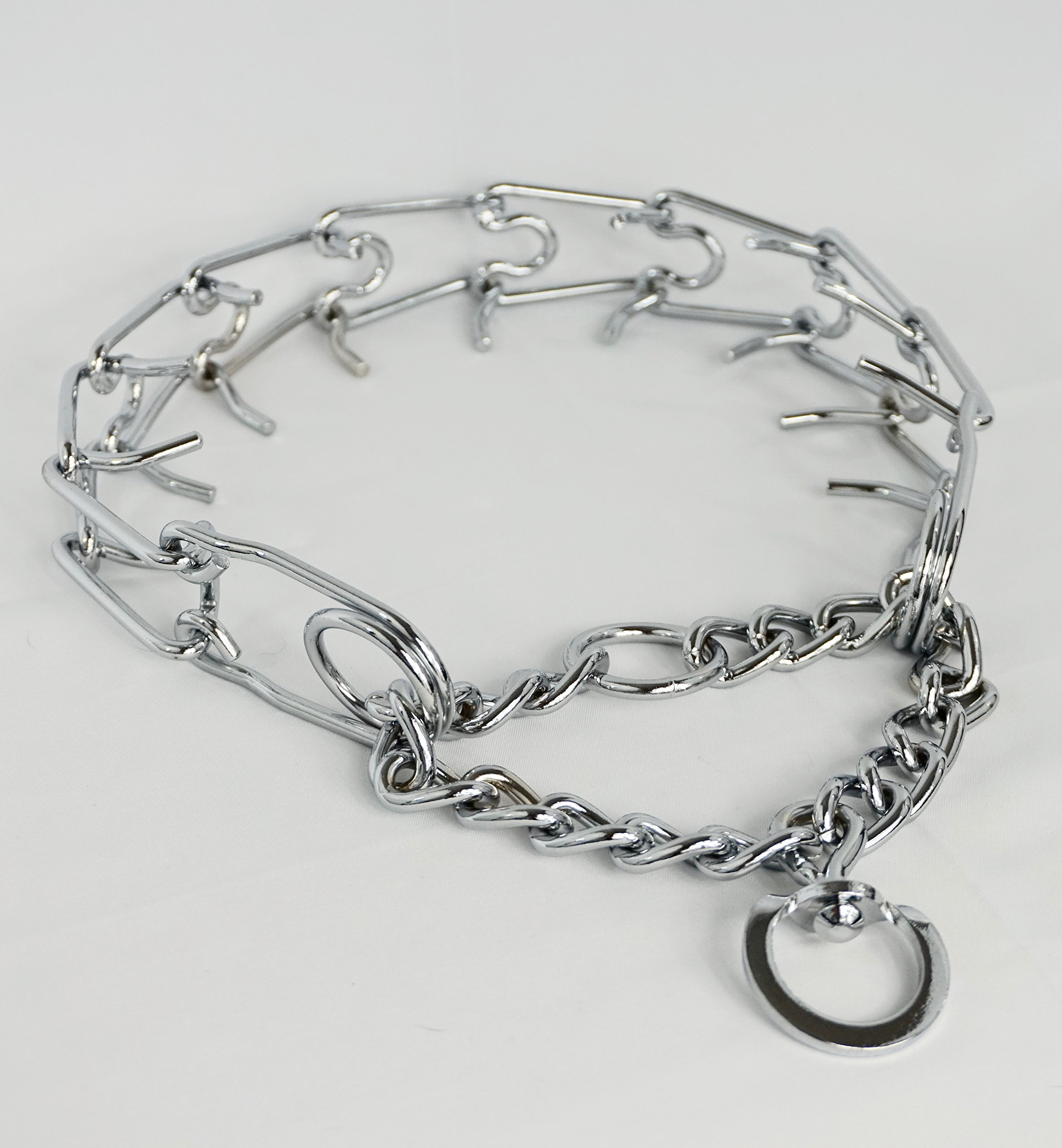 Dog-Thing It's a Dog Training Prong Collar (Large), Metal Collar Large Dog Obedience Training. Better Than a Choke Chain Other Dog Collars Dog Walking by Dog-Thing