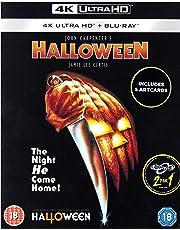 Halloween [4K Ultra HD + Blu-ray + Art Cards] [Slipcover] [2018]