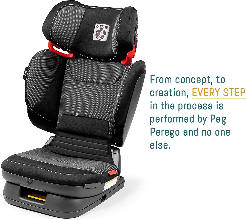 Black Peg Perego Viaggio HBB 120 High Back Booster
