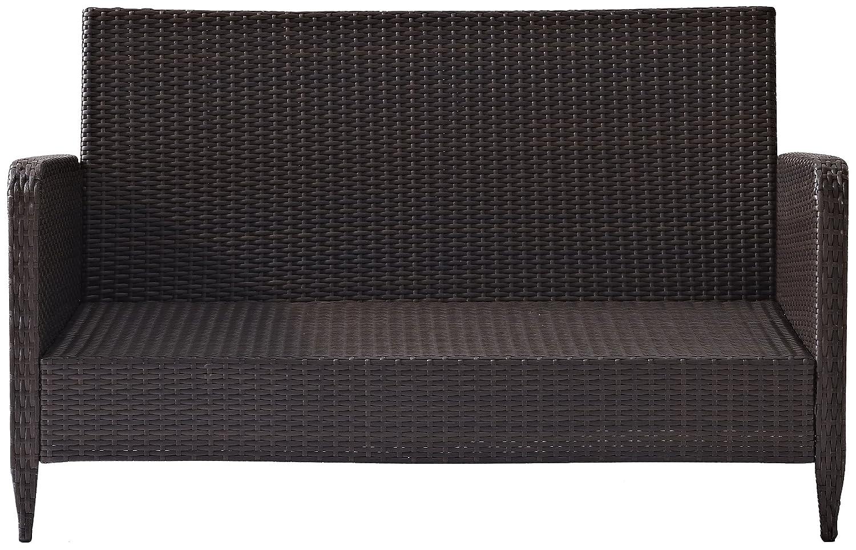Amazon.com: Crosley Furniture Kiawah - Sofá de mimbre para ...