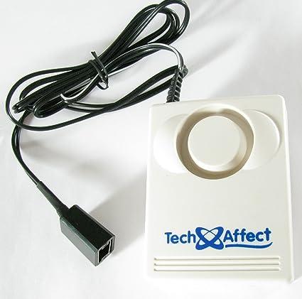 - Alarma de fuga de agua - agua / humedad / inundación sensor detector - también se puede utilizar como dispositivo de seguridad para prevenir la ...