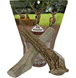 WhiteTail Naturals (2 Pack X Large, Jumbo XL Antler Dog Chews | Hard Axis Deer Horn | Extra Large Antlers for Big Dogs | American Made