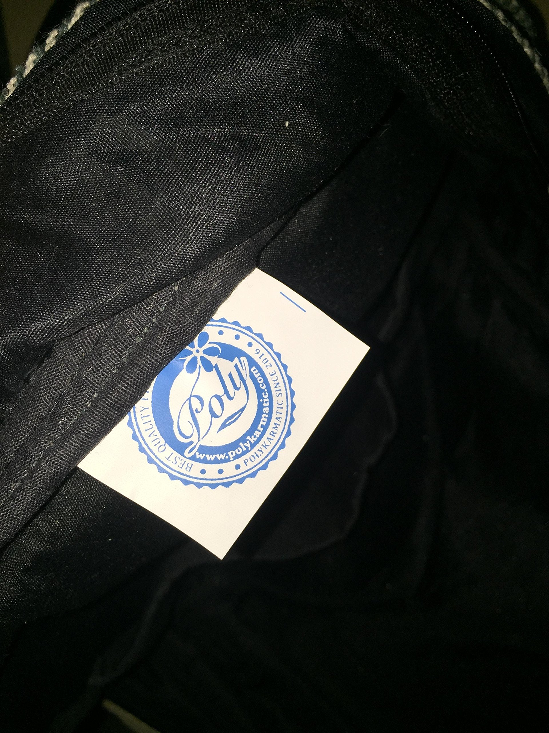 Hemp Handmade Himlayan Backpack ( THC FREE) (Type 1) by Polykarmatic (Image #4)