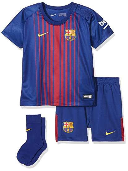 4975749ed3d Amazon.com   Nike Infants Breathe FC Barcelona Kit  DEEP Royal Blue ...