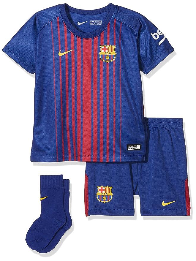 Amazon.com: Nike Infants Breathe FC Barcelona Kit [DEEP ...