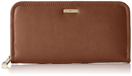 Stella Maris STMB612 04 - Cartera billetera de fiesta hecha de cuero con un diamante cartera de mano, color cafe marron: Amazon.es: Zapatos y complementos