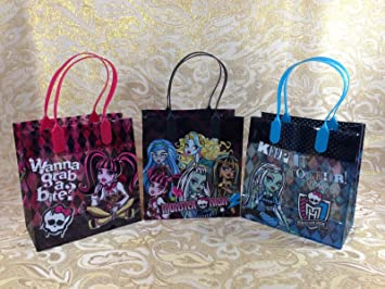 Amazon.com: 48 piezas Monster High bolsas de dulces bolsas ...