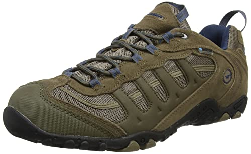 Hi-Tec Men's Penrith Waterproof Low Rise Hiking Boots, Brown (Smokey Brown/