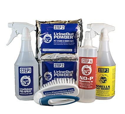 Planet Urine Ultimate II Pet Odor Removal, Urine Remover & Eliminator  System – Dog & Cat Stain & Pee Cleaner Solution for All Surfaces – with  Free