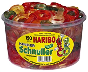 Haribo Kinder-Schnuller, Tub