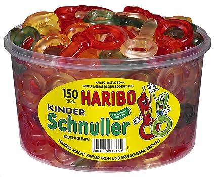 Haribo Kinder Schnuller, Gominolas de Fruta, 150 Unidades ...