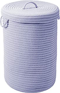 """product image for Colonial Mills Simply Home Hamper w/lid - Amethyst 18""""x18""""x30"""""""