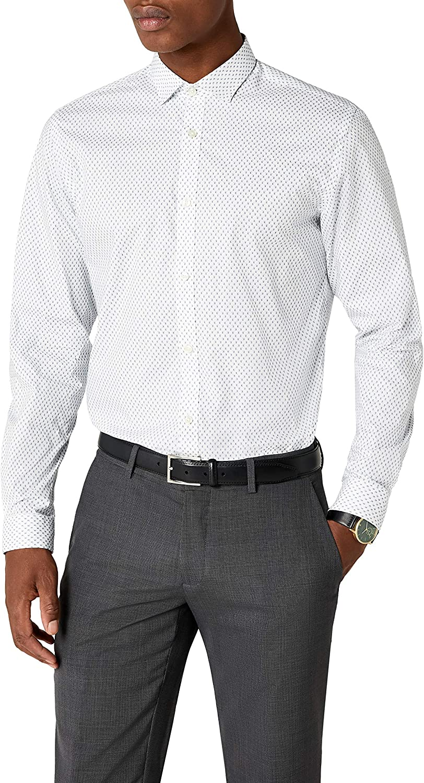 JACK /& JONES Jprjenson Shirt L//S Noos Camicia Formale Uomo