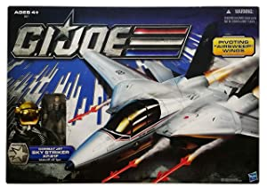 G.I. Joe 30th Anniversary Combat Jet Sky Striker XP-21F with Captain Ace Action Figure