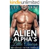 Alien Alpha's Little Omega: M/M Gay Mpreg Science Fiction Romance (Zatan Warriors Book 1)
