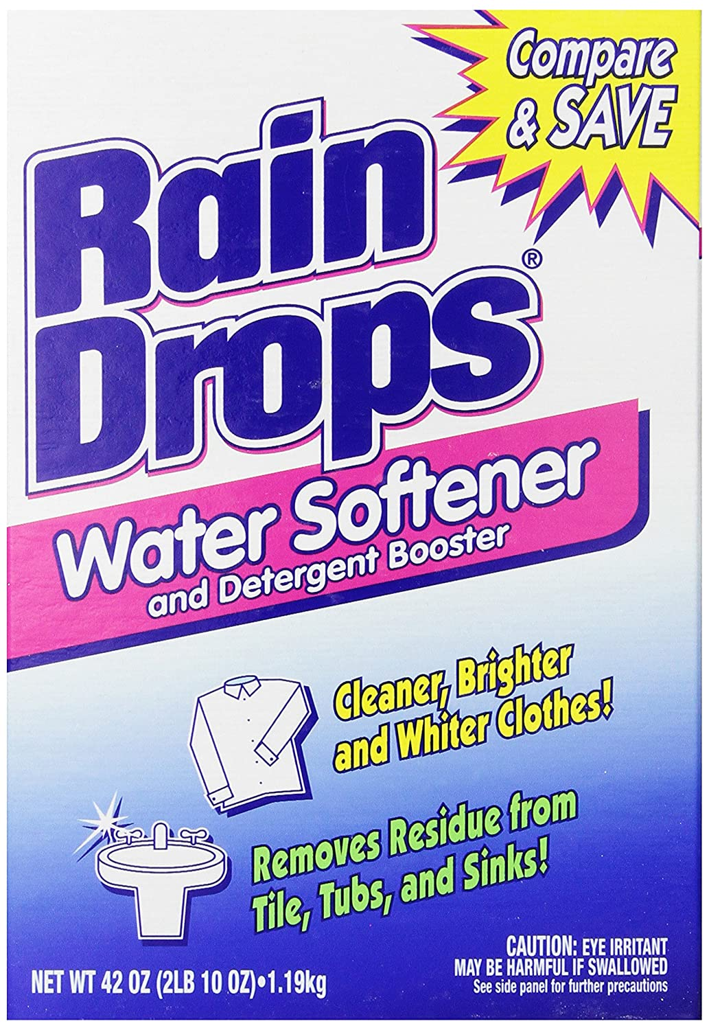 How To Repair A Water Softener Amazoncom Rain Drops Water Softener 42 Ounce Pack Of 2