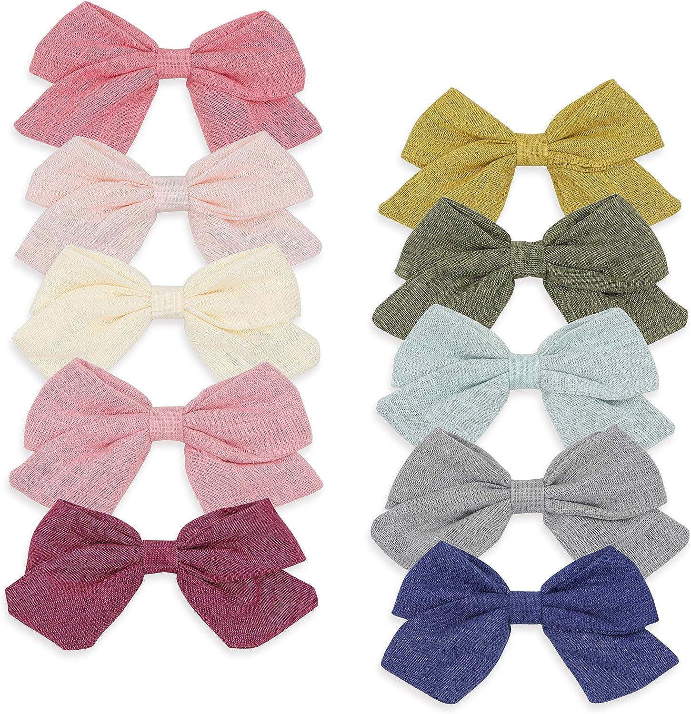 floral hair bow girls hair clips pink hair bow fabric bow headband hair accessories baby girls large bow headband floral hair clip