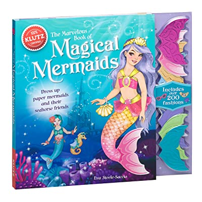 Klutz The Marvelous Book of Magical Mermaids: Steele-Saccio, Eva: Toys & Games [5Bkhe1101862]