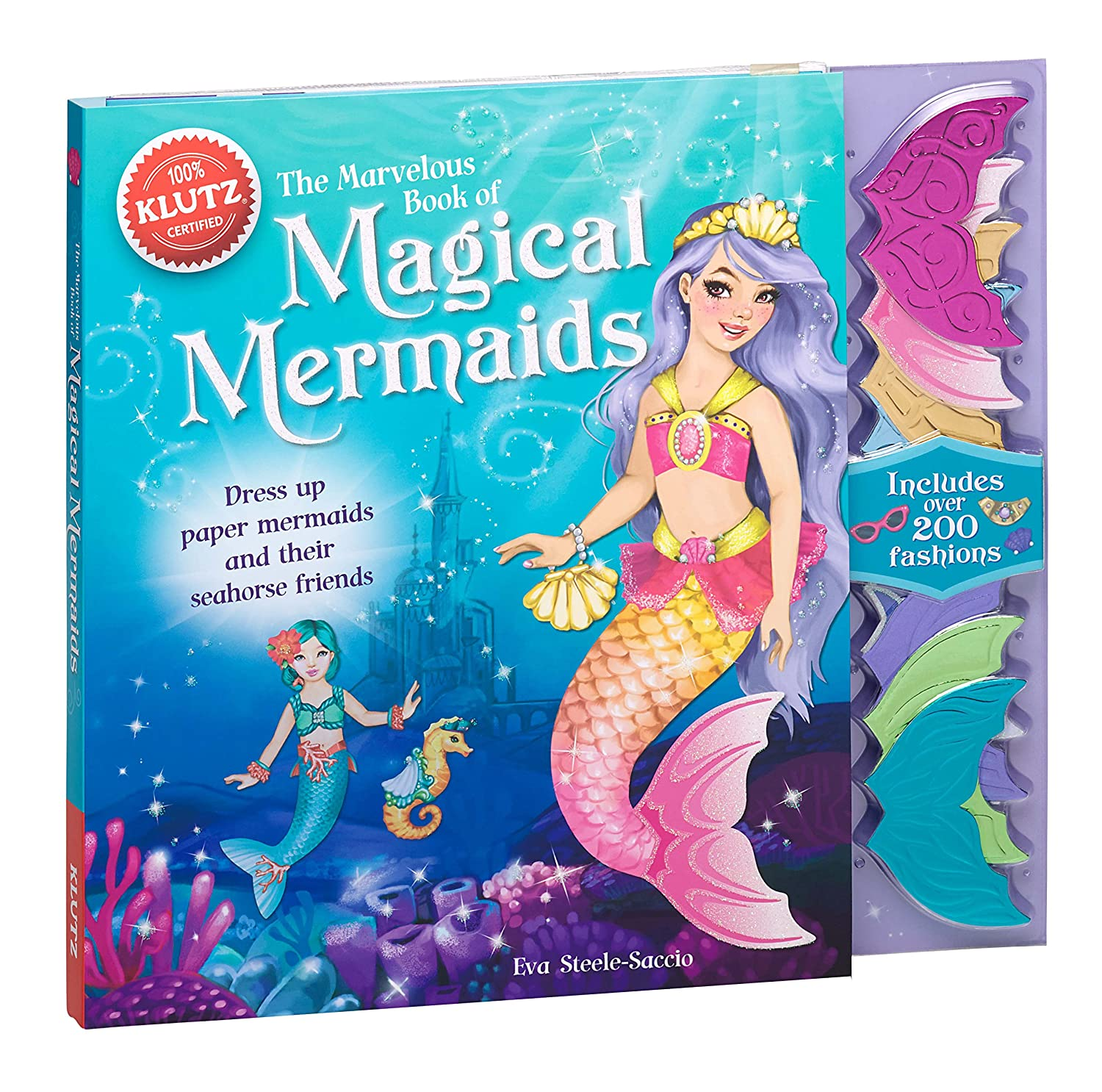 7-9 years; 9 Klutz The Marvelous Book of Magical Mermaids Klutz Press K569214 Games /& Activities C L Non-fiction; Non-character; General Activity Book; 5 7 Non Tie-in CHILD: Leisure CHILD: Non-Fiction 7+ Children/'s General Interest /& Leisur
