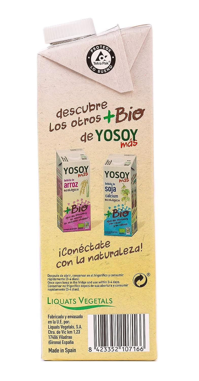 YOSOY Ecologico Bebida de Quinoa con Arroz Ecologica 1L [caja de 6 x 1L]: Amazon.es: Alimentación y bebidas