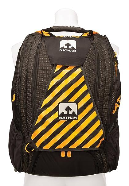 Nathan Mission Control Bag - Excepcionalmente espacioso, resistente mochila- Triatlón.