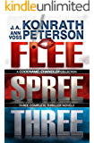 Flee, Spree, Three (Codename: Chandler Trilogy - Three Complete Novels)