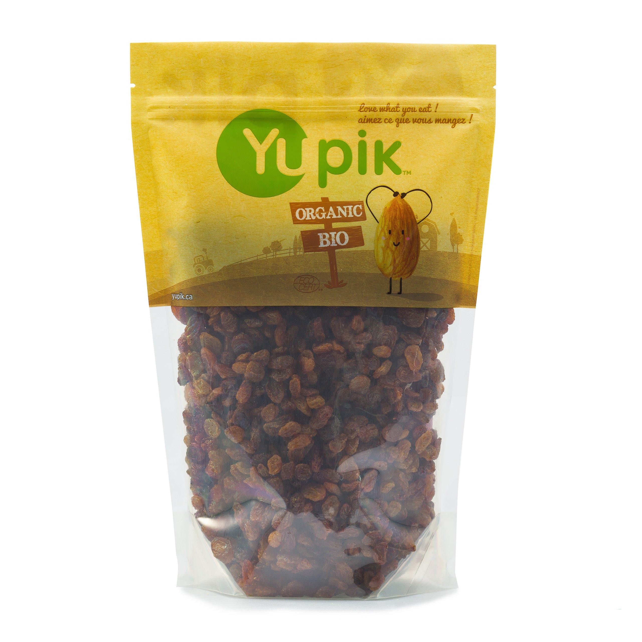 Yupik Organic Sultana Raisins, 2.2 lb by Yupik