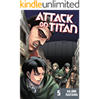 Attack on Titan Vol. 5 book cover