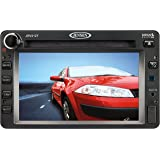 """JENSEN JRV212TB model JRV212T AM/FM/CD/USB/WB/iPod & SIRIUS Ready 2.0 DIN Stereo, 6.1"""" TFT LCD touch panel, NOAA weatherband tuner, 4 x 40W audio output power, Plays audio CD, CD-R, CD-RW, MP3 with ID3 tag and WMA, Blue LED backlit controls"""