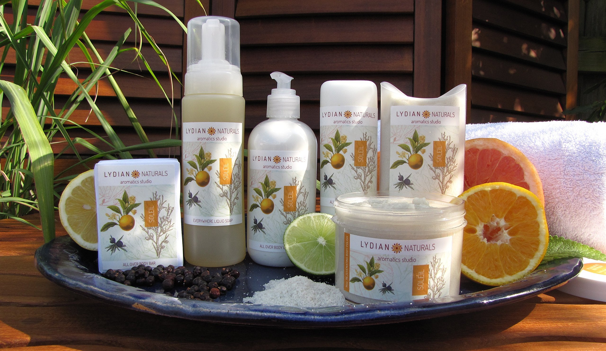 Soleil EVERYWHERE LIQUID SOAP made with pure essential oils