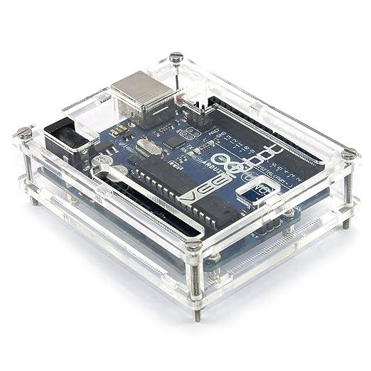 39 opinioni per Generic SKU02009- Box trasparente per Arduino Uno