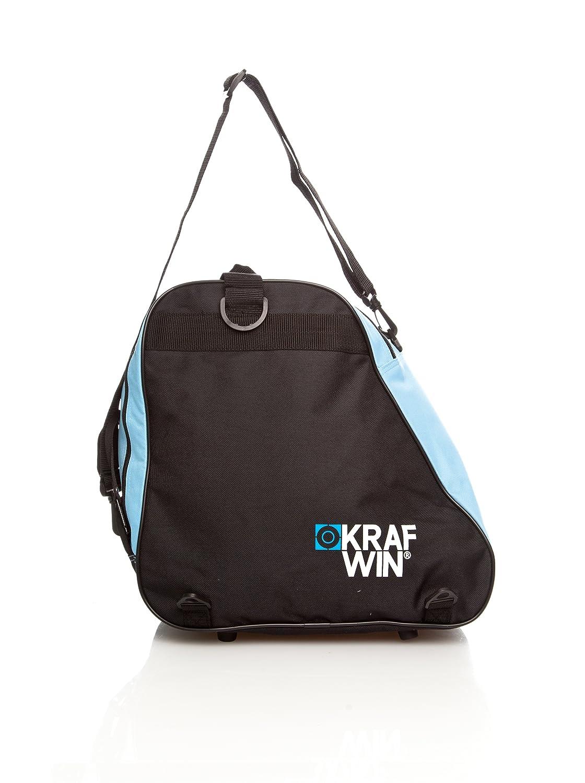 KRF Krafwin Borsa Per Pattini A Rotelle E Inlinea, Unisex bambini, Rosso, Taglia Unica KRF The New Urban Concept 0000826