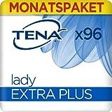 Tena  Lady Monats-Paket Extra Plus mit 96 Einlagen (6 Packungen x16 Einlagen), 1er Pack (1 x 96 )