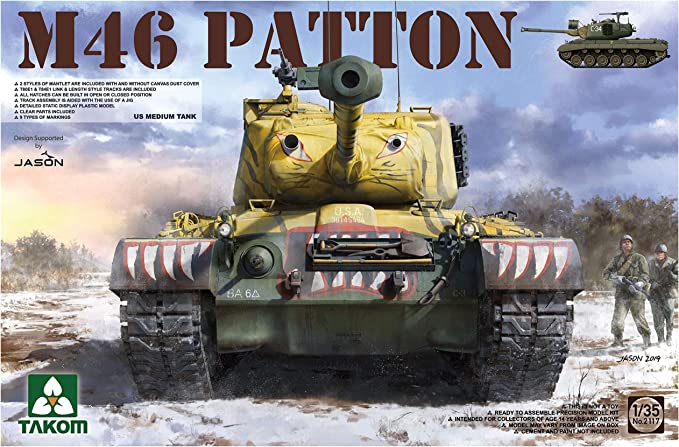 TAKom TAK02117 1:35 M46 Patton