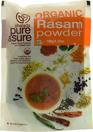 Pure & Sure Organic Powder, Rasam, 100g