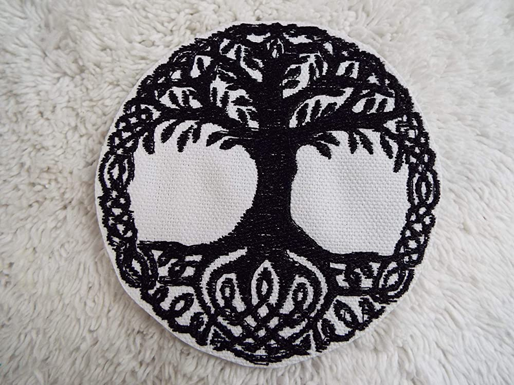 Yggdrasil tree of life Norse mythology thor Odin God Emblem Jeans Iron on Patch