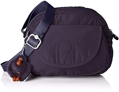 73c3ce2bbe Kipling Stelma, Women's Cross-Body Bag, Purple (Blue Purple), 13x24x19