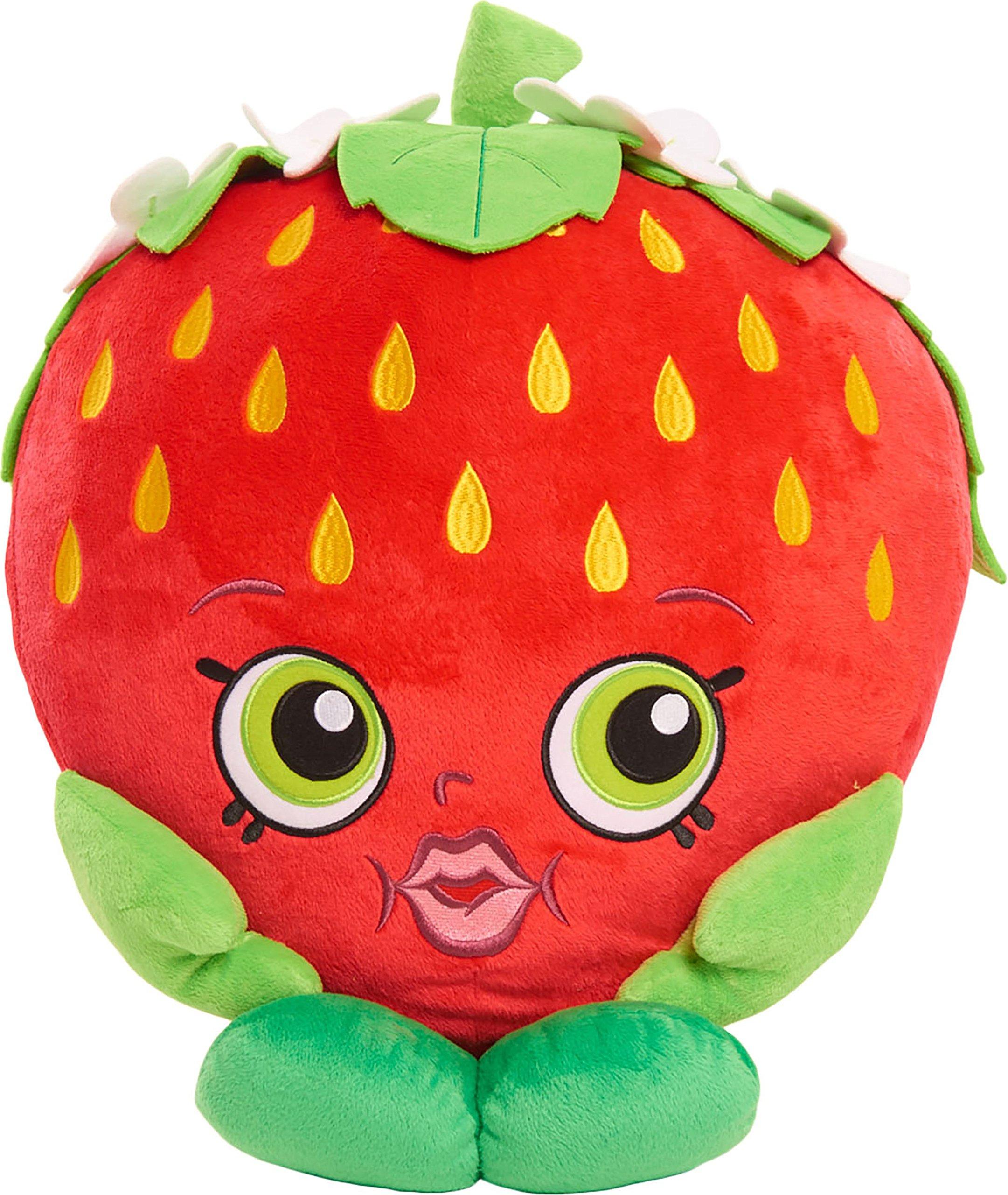 Shopkins Jumbo Strawberry Kiss Plush by Shopkins