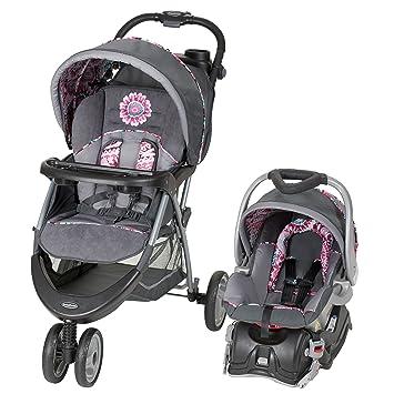 big sale 9588d b2624 Amazon.com   Baby Trend EZ Ride 5 Travel System, Paisley   Baby