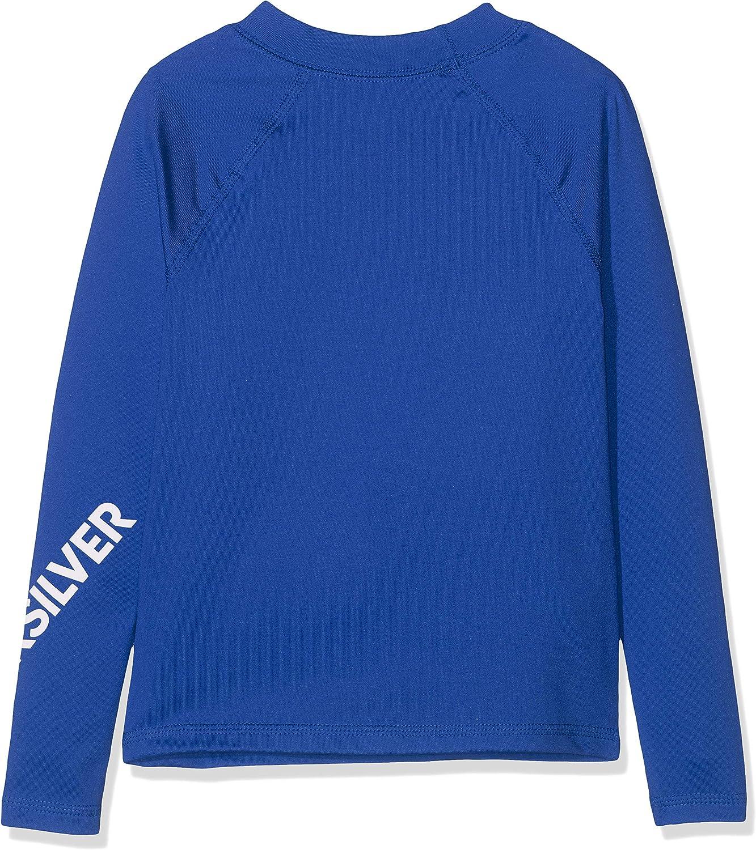 FR : XS Quiksilver All Time T-Shirt Gar/çon Taille Fabricant : 2 Electric Royal