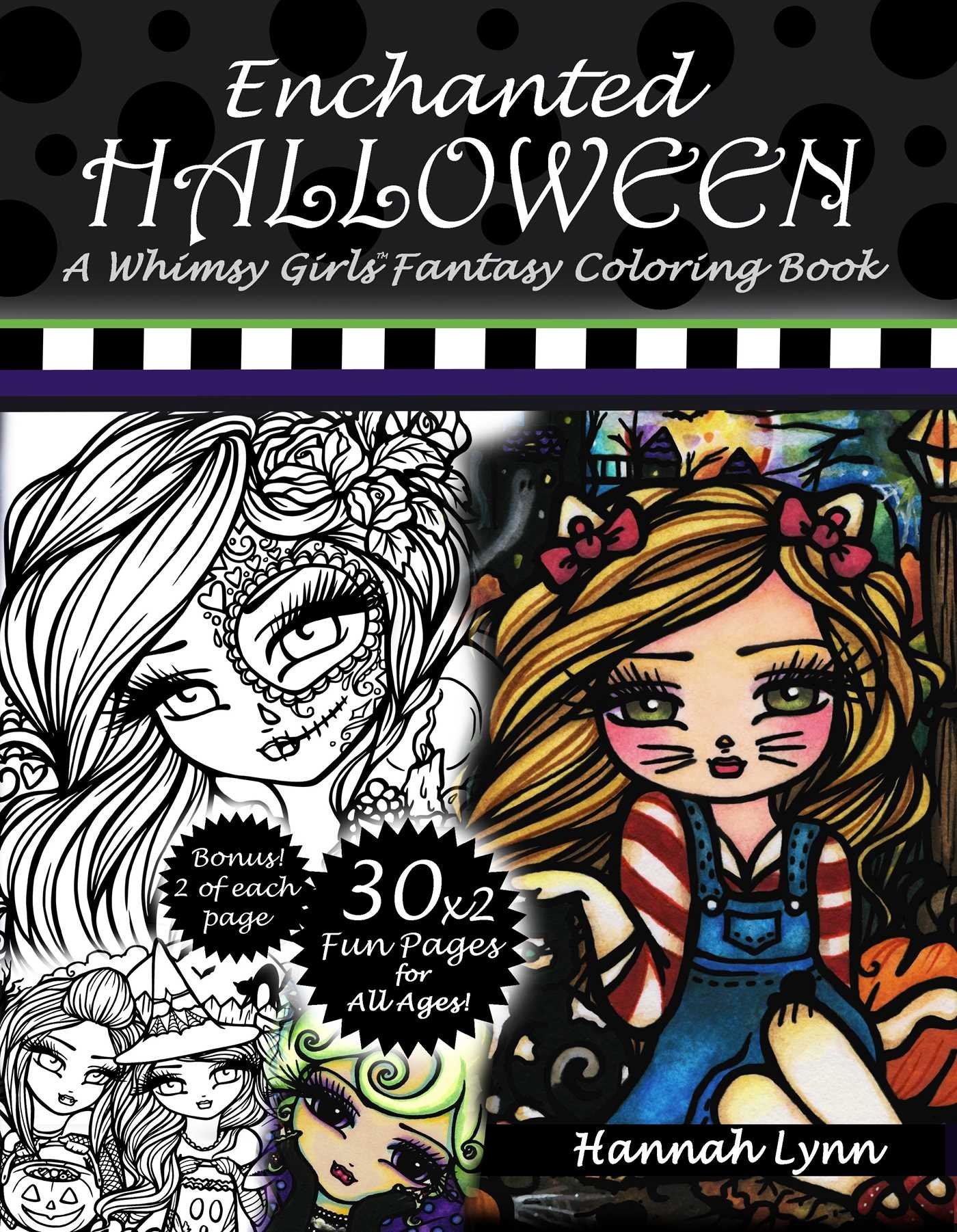 Enchanted Halloween: A Whimsy Girls Fantasy Coloring Book pdf