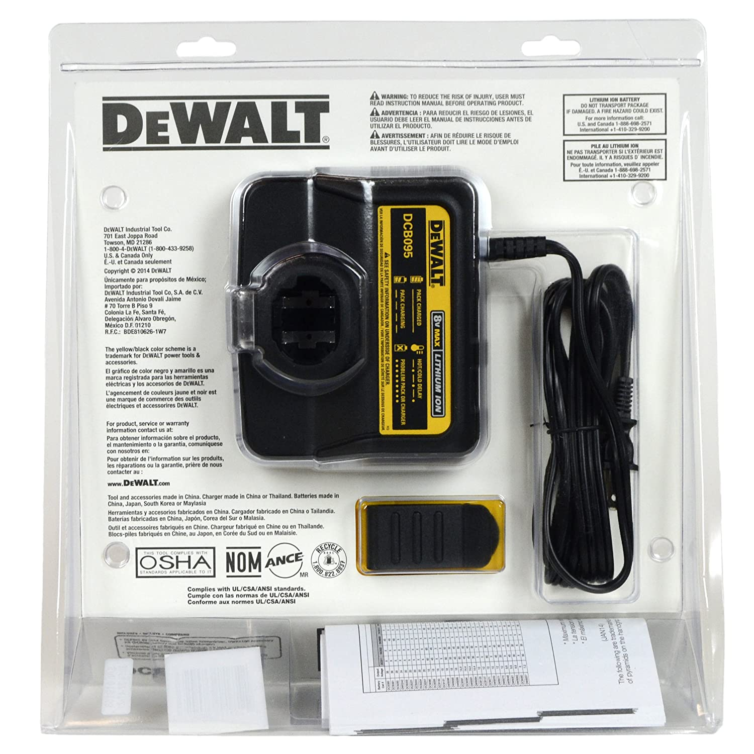 Dewalt DCF682N1A 8V Max Lith-ion 1/4 in. Cordless Gyroscopic Screwdriver in Retail Package