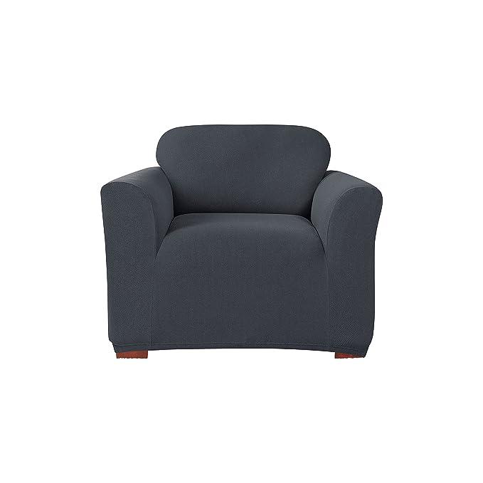 Amazon.com: Sure Fit Scroll t-cushion – Sofá Slipcover ...