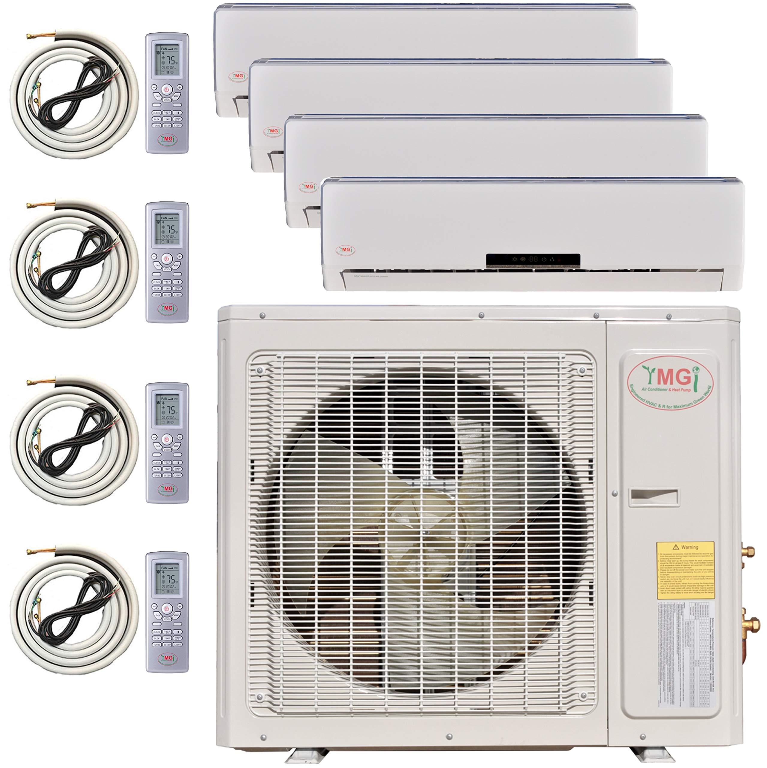 Ymgi Multi Zone Mini Split Ductless Air Conditioner Quad