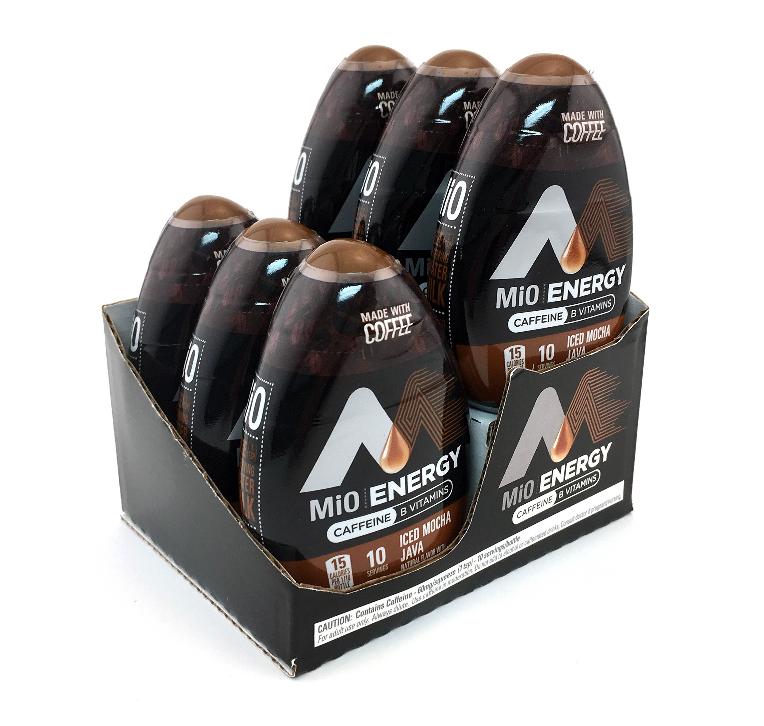 MiO Energy Iced Mocha Java Iced Coffee Concentrate 1.62 fl. oz. (Pack of 24) by  (Image #2)